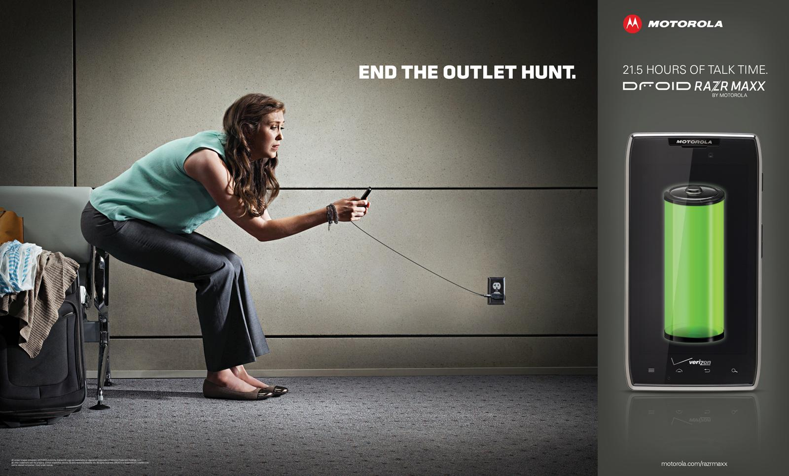 Motorola Outdoor Ad -  End The Outlet Hunt, 3