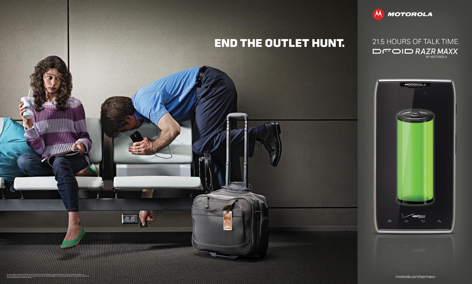 Motorola Outdoor Ad -  End The Outlet Hunt, 4