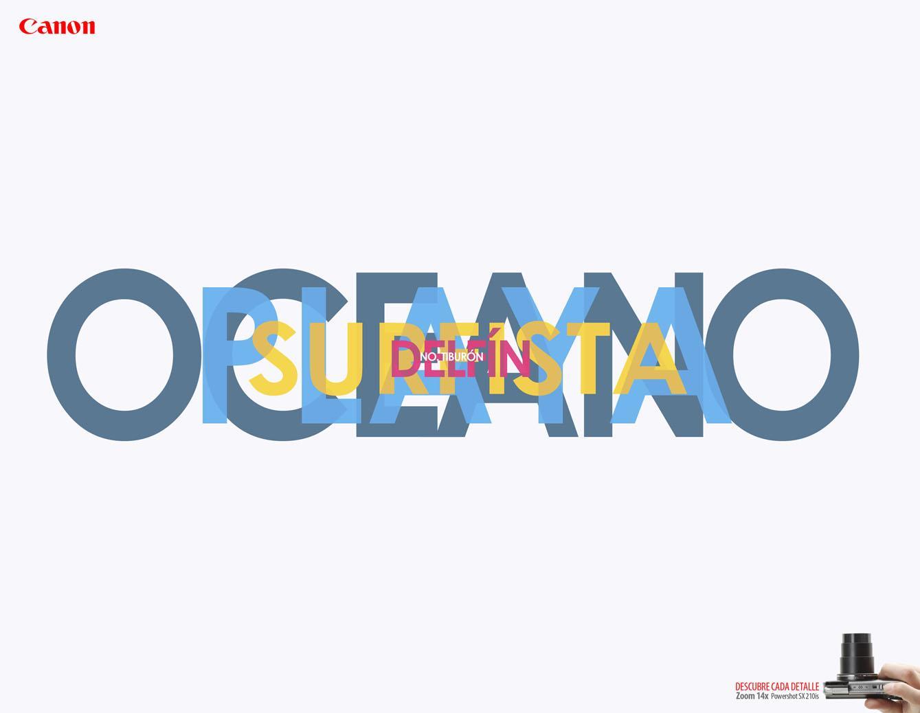 Canon Print Ad -  Ocean