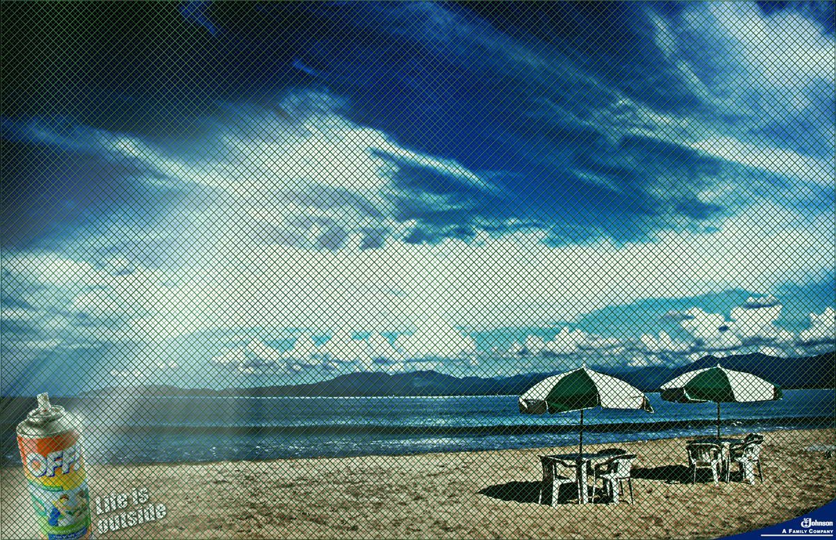 Off Print Ad -  Beach