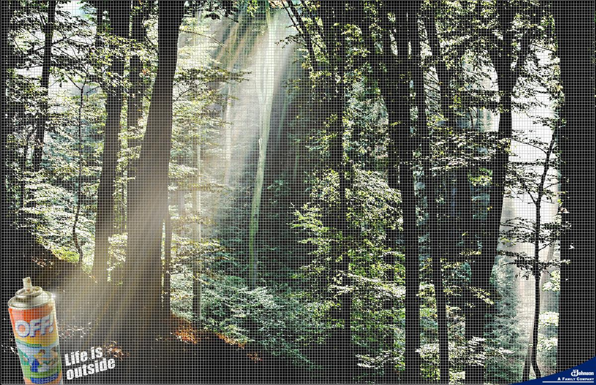 Off Print Ad -  Forest
