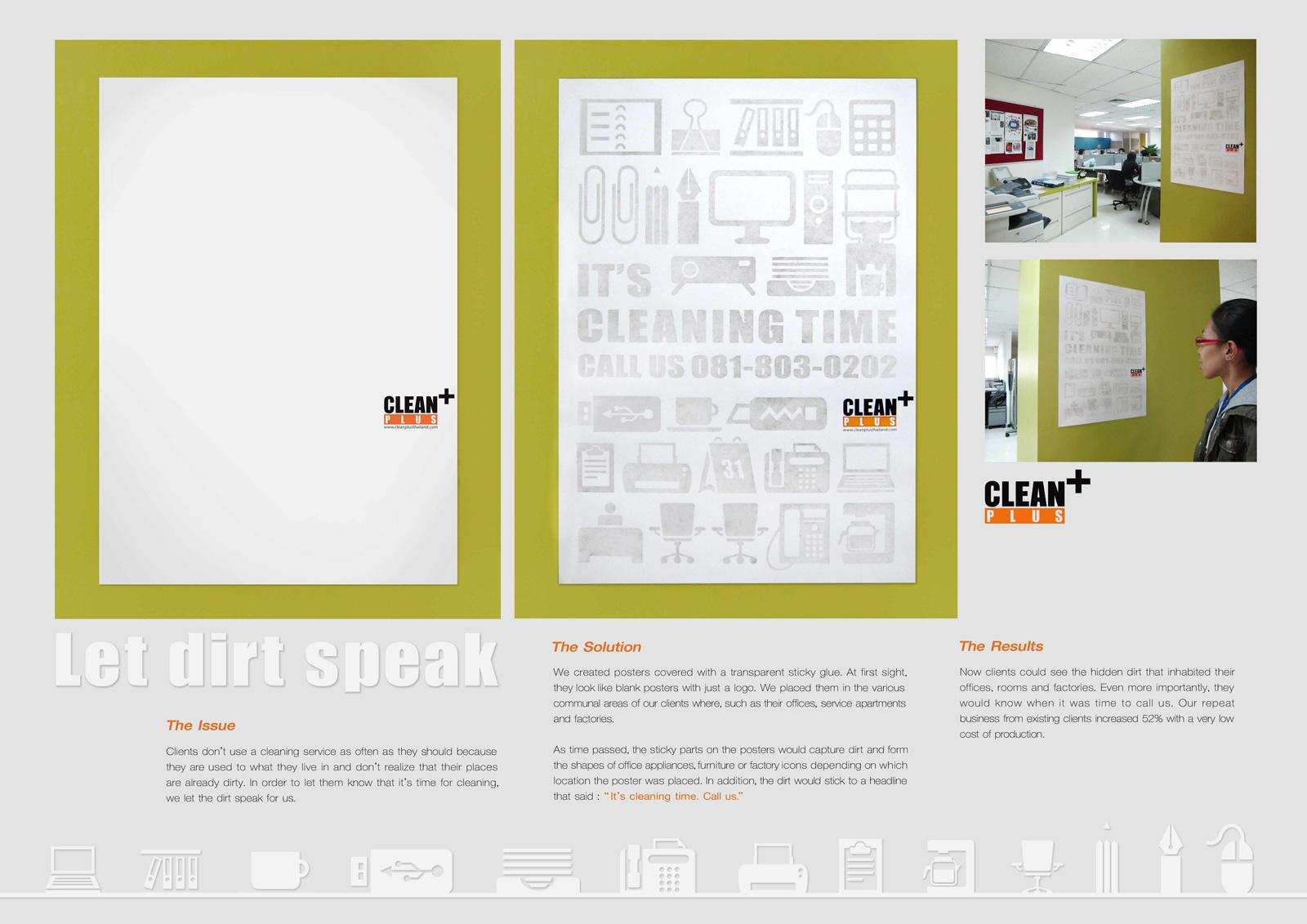 Clean Plus Outdoor Ad -  Office