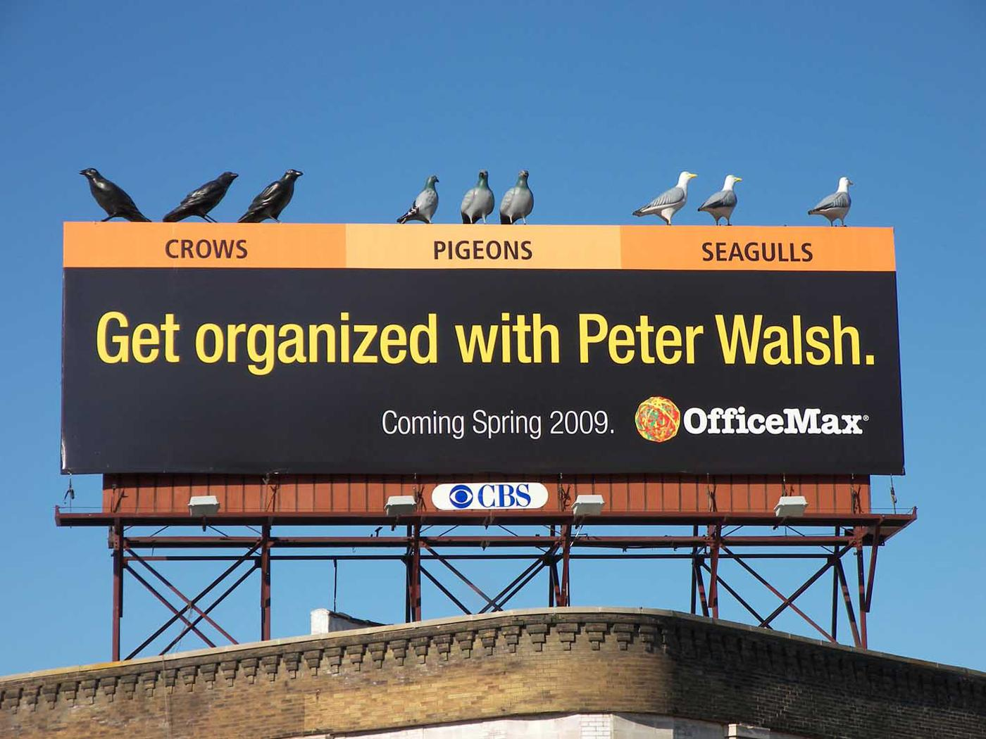 OfficeMax Ambient Ad -  Get organized
