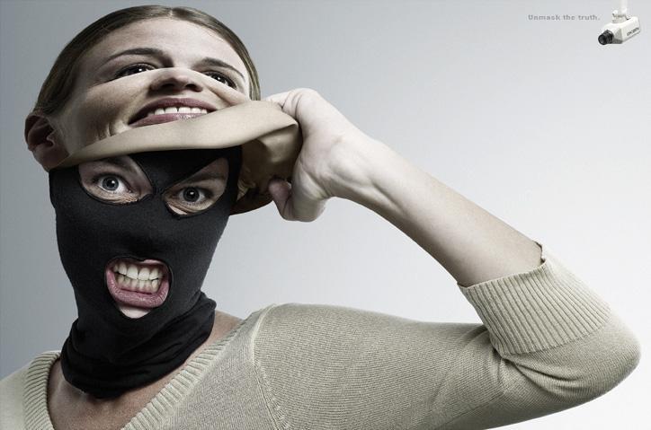 Okami Print Ad -  Unmask the truth, 3