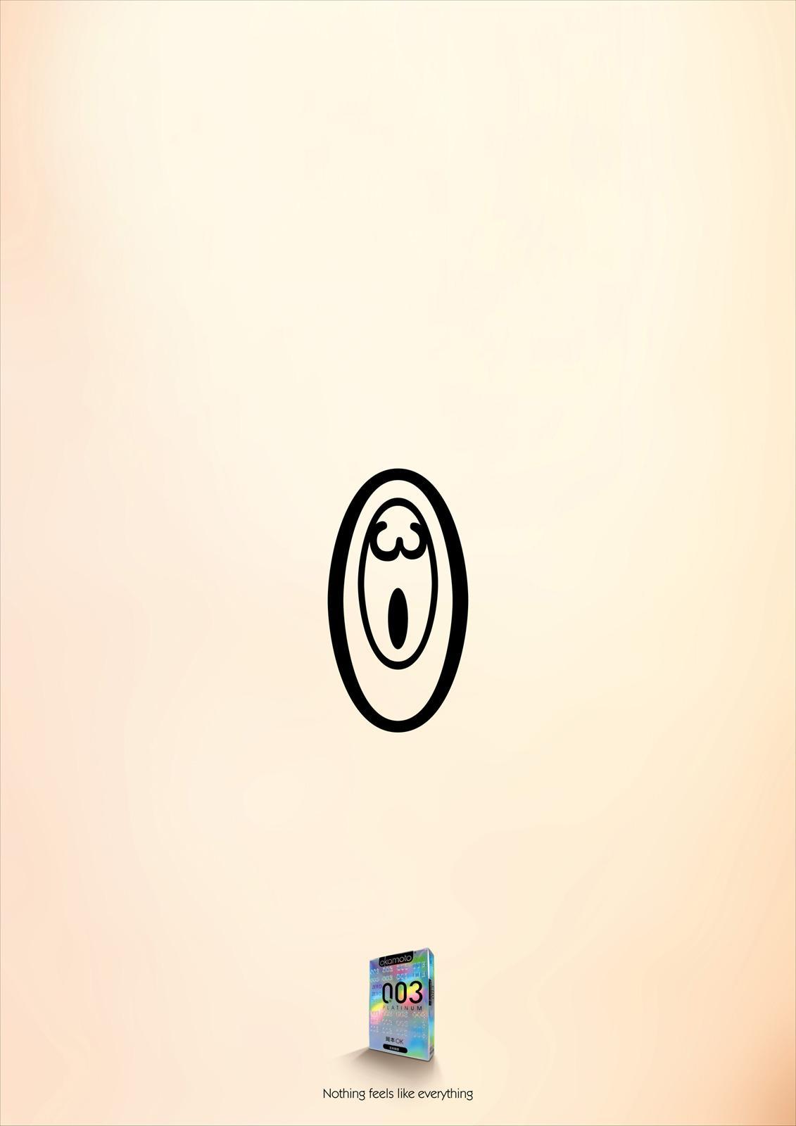 Okamoto Print Ad -  Numbers of Pleasure, 2