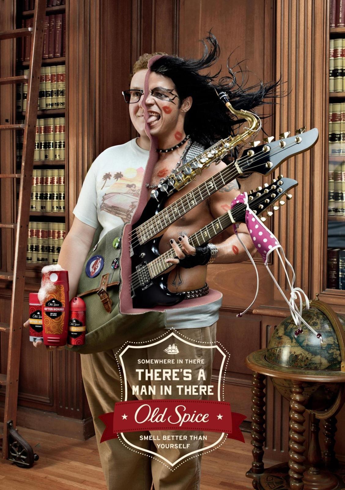 Old Spice Print Ad -  Rocker
