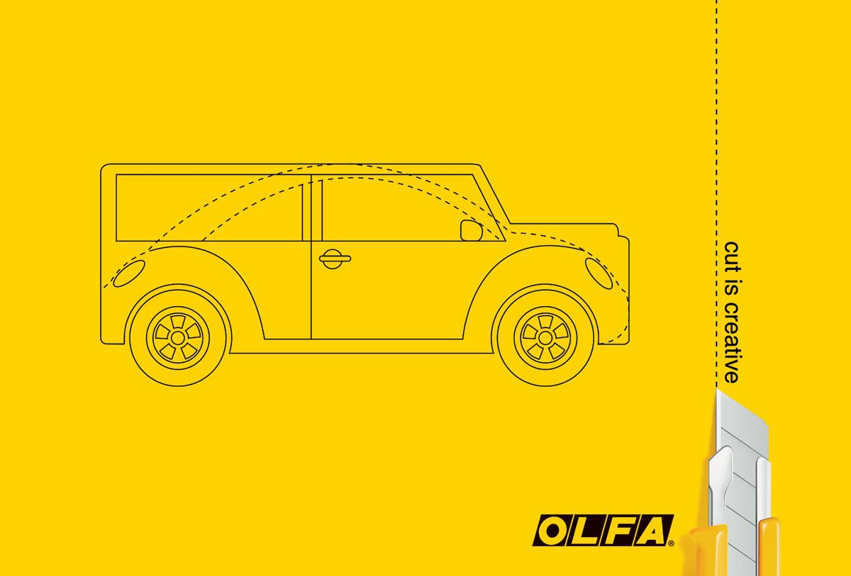 Olfa Print Ad -  Car