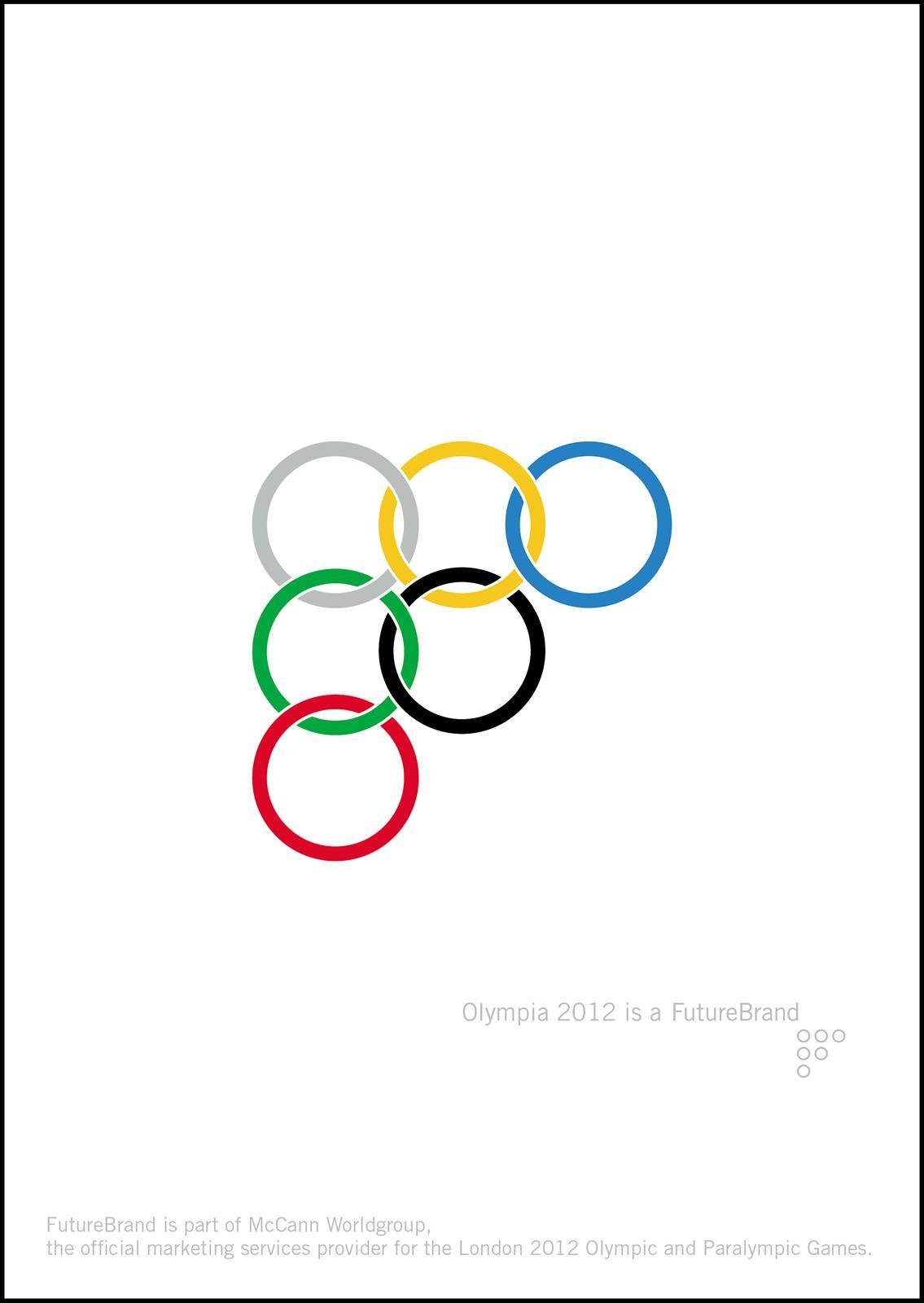 Olympics Print Ad -  Olympia 2012 is a FutureBrand