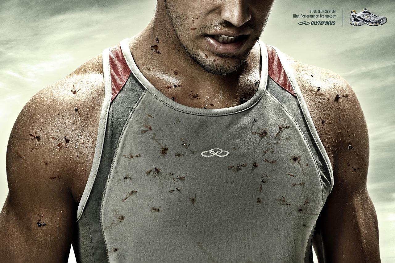 Olympikus Print Ad -  Bugs