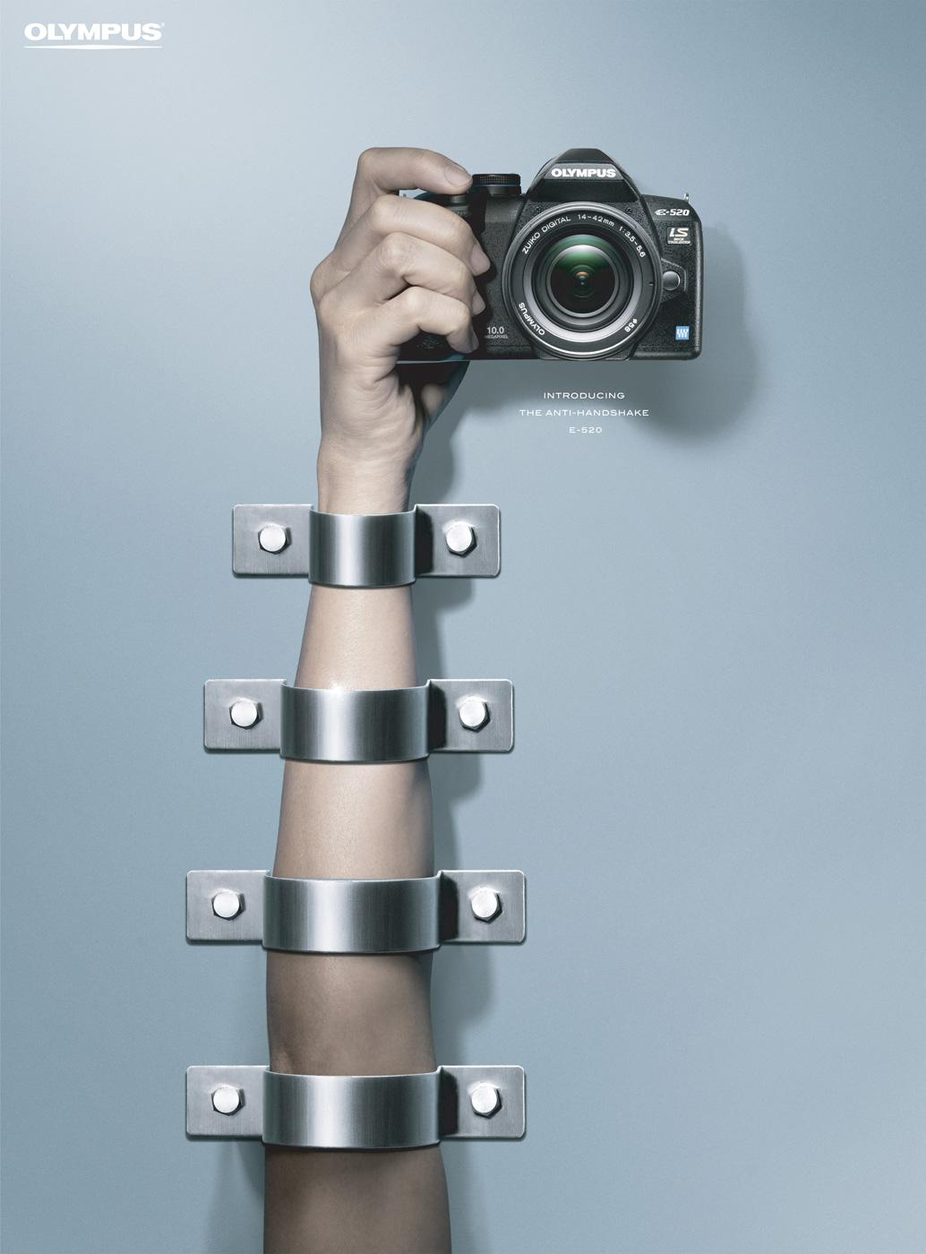 Olympus Print Ad -  Arm