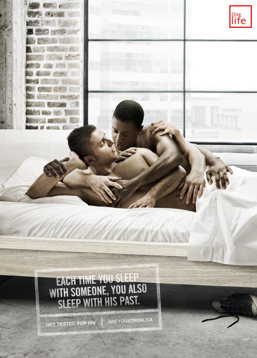 One Life Print Ad -  Bed
