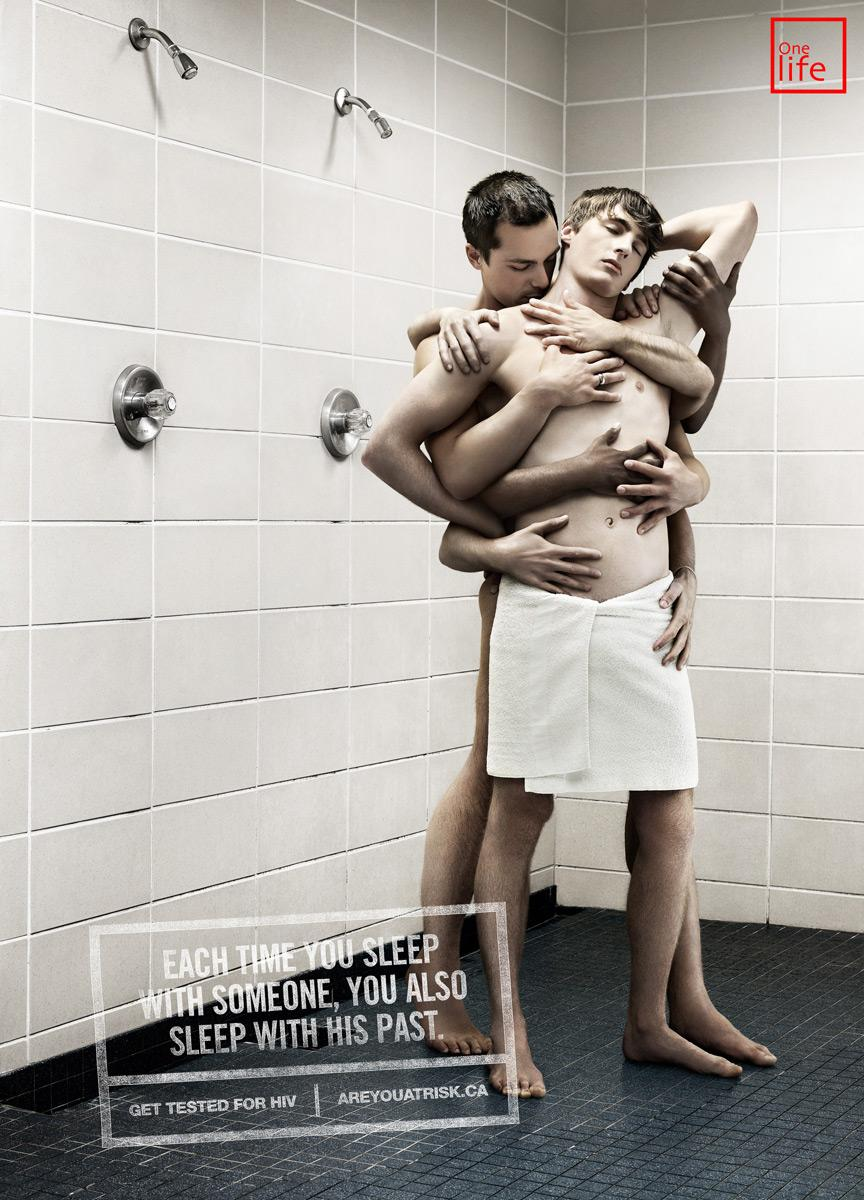 One Life Print Ad -  Shower