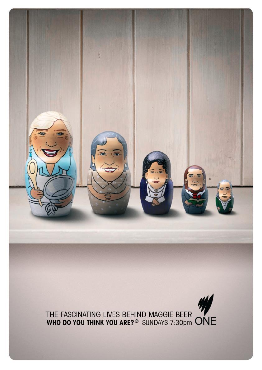 SBS Print Ad -  Maggie Beer