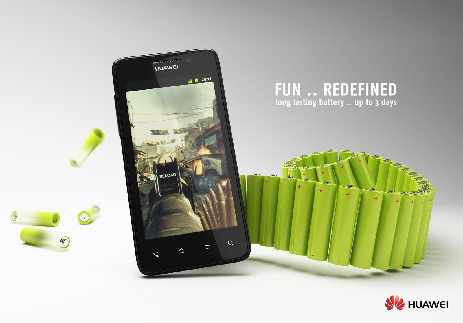 Huawei Print Ad -  Fun redefined