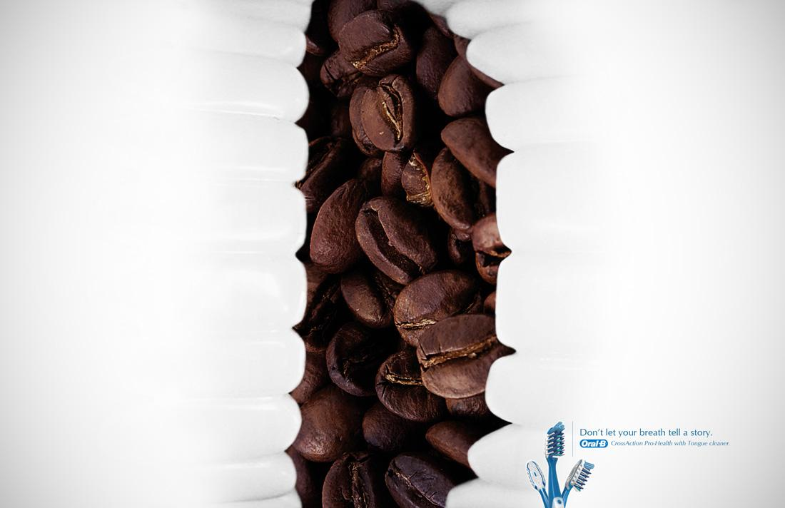 Oral-B Print Ad -  Coffee