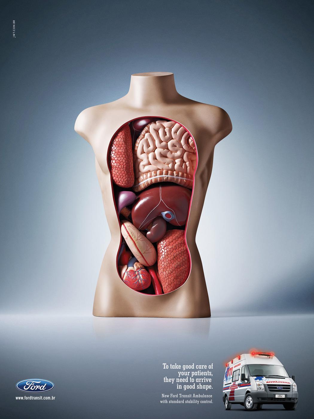 Ford Print Ad -  Organs