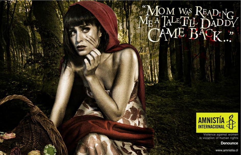 Amnesty International Print Ad -  Red Little Tender