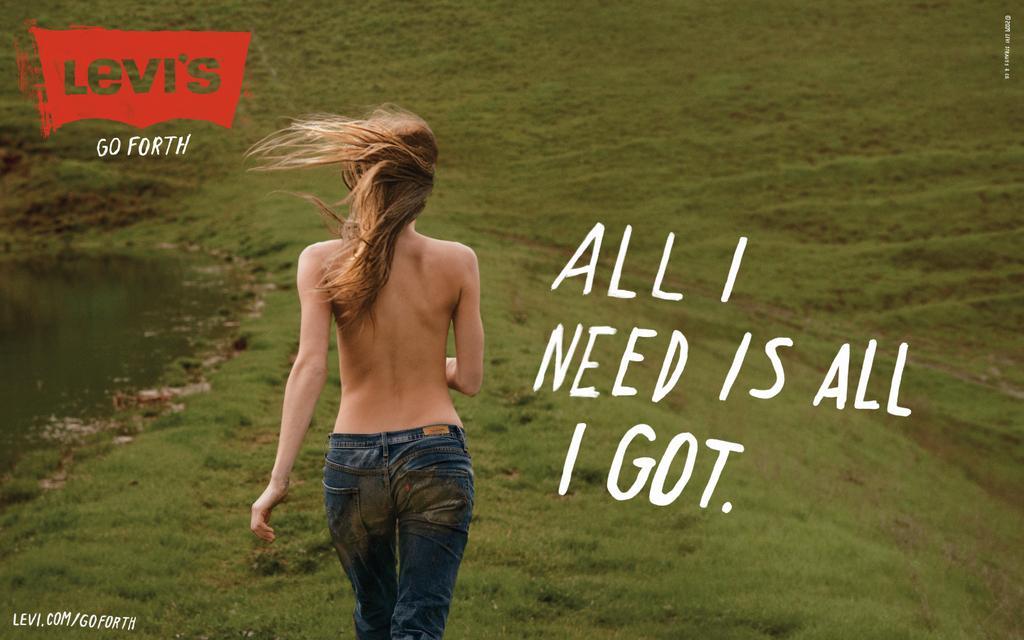 Levi's Print Ad -  All I need