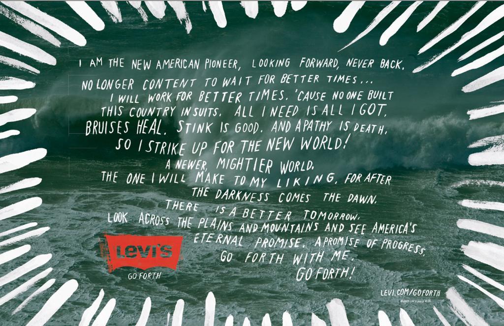 Levi's Print Ad -  Manifest