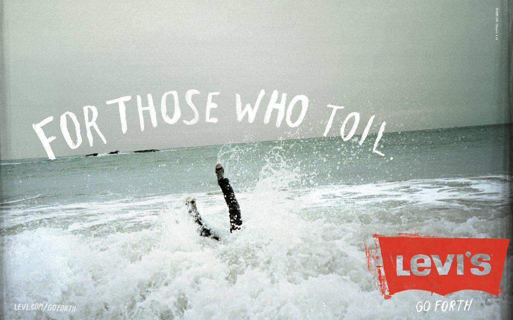 Levi's Print Ad -  Toil