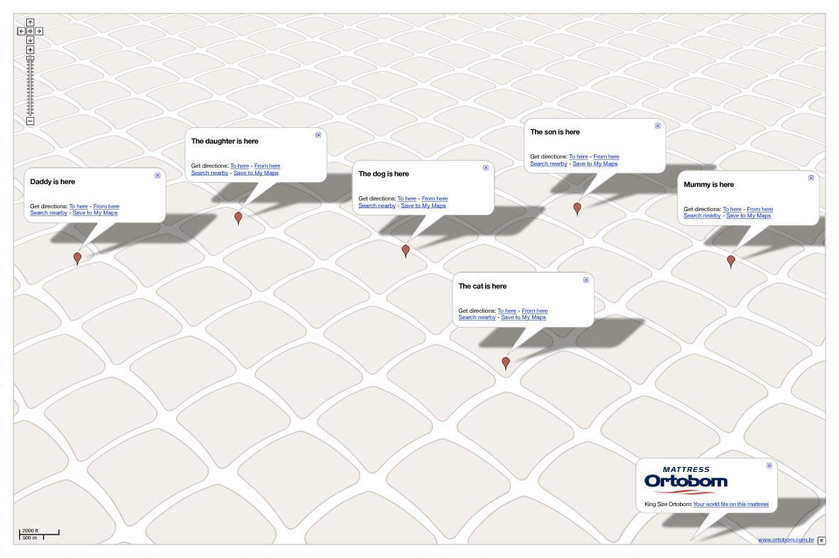 Ortobom Mattresses Print Ad -  Family
