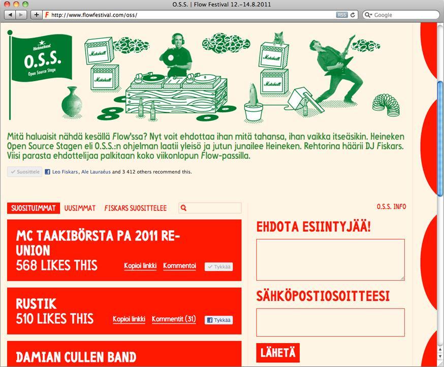 Heineken Digital Ad -  Open Source Stage