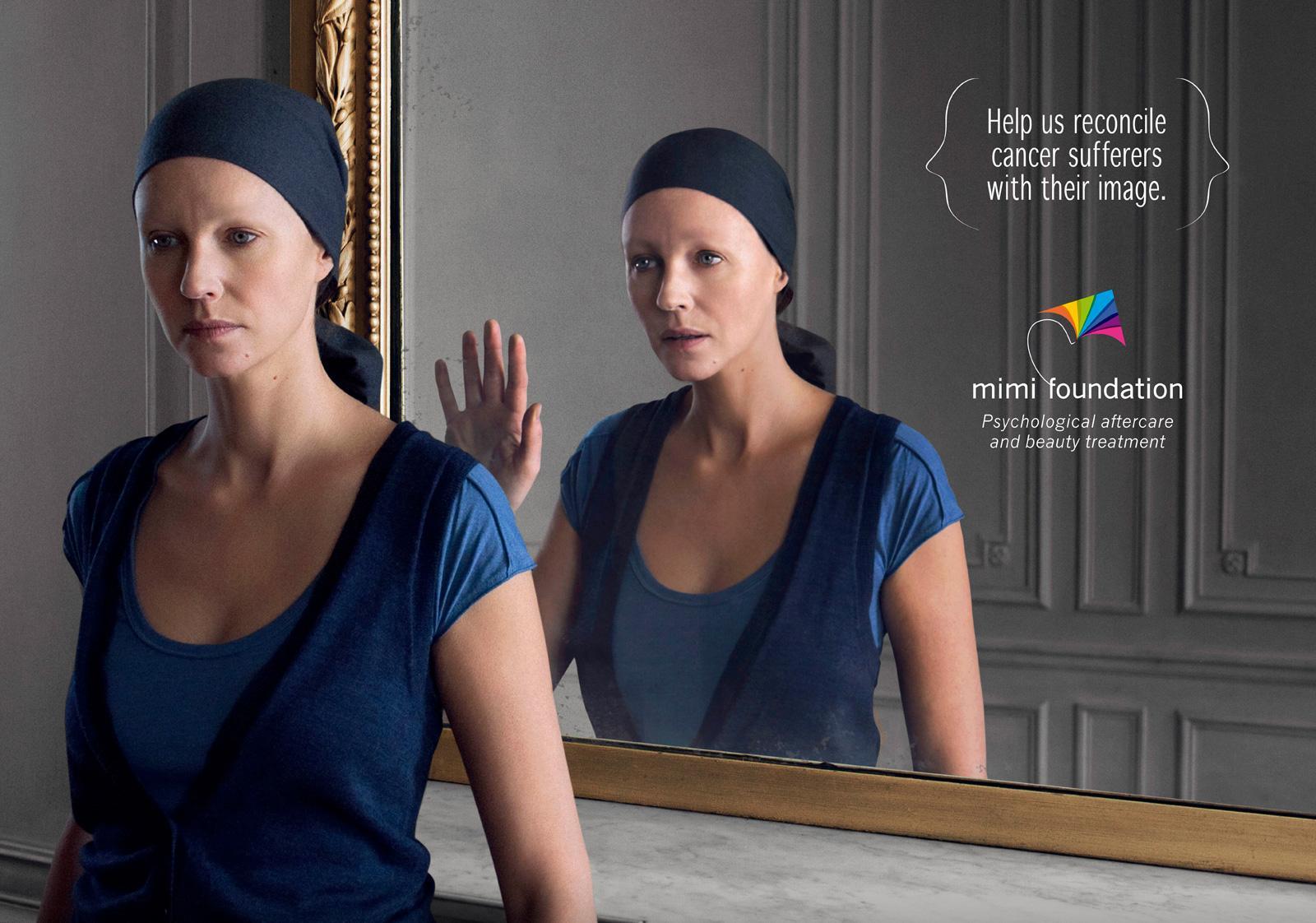 Mimi Foundation Print Ad -  Mirror