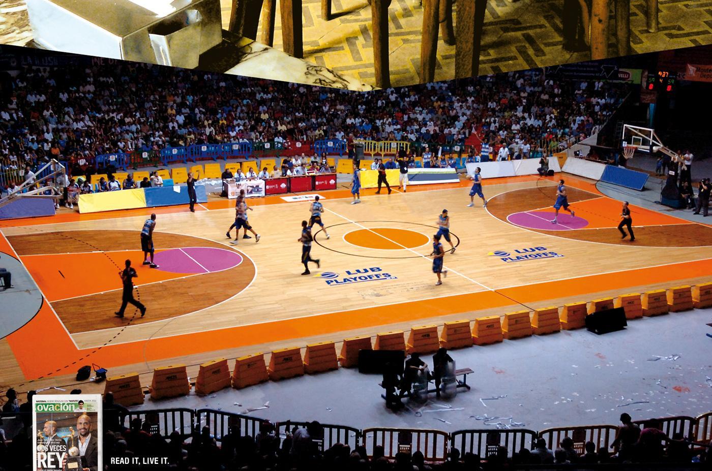 Ovacion Print Ad -  Basketball