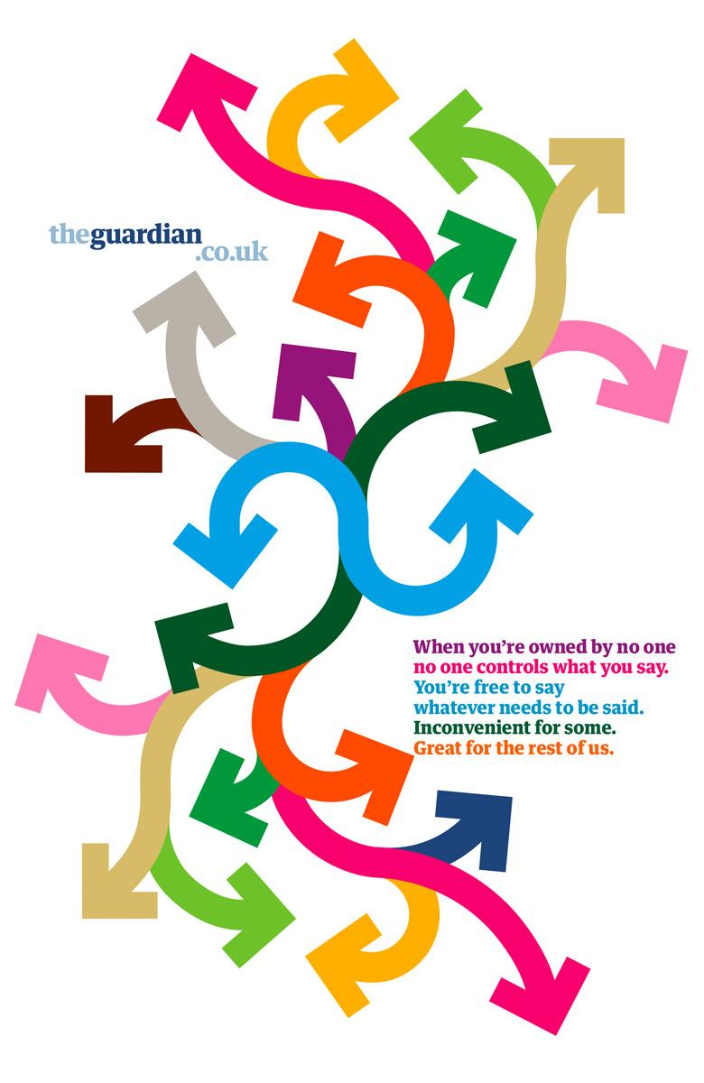 Guardian Print Ad -  Owned by no one