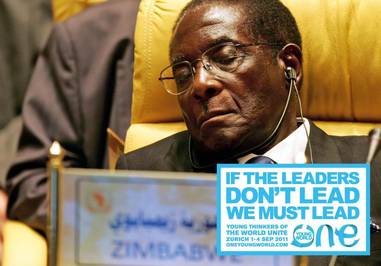 One Young World Print Ad -  Zimbabwe