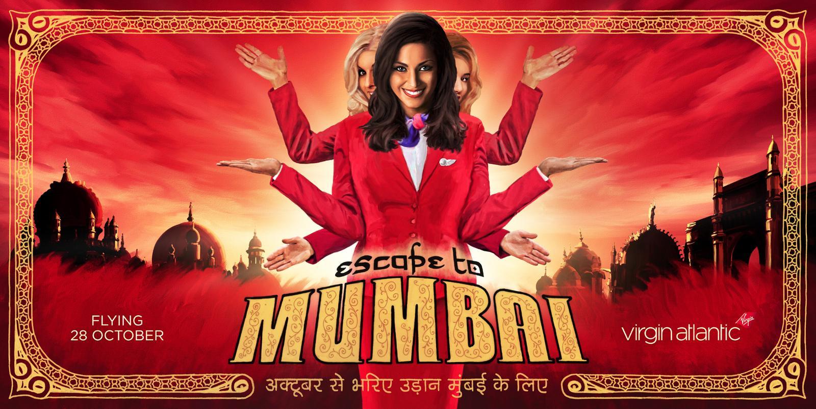 Virgin Outdoor Ad -  Escape to Mumbai