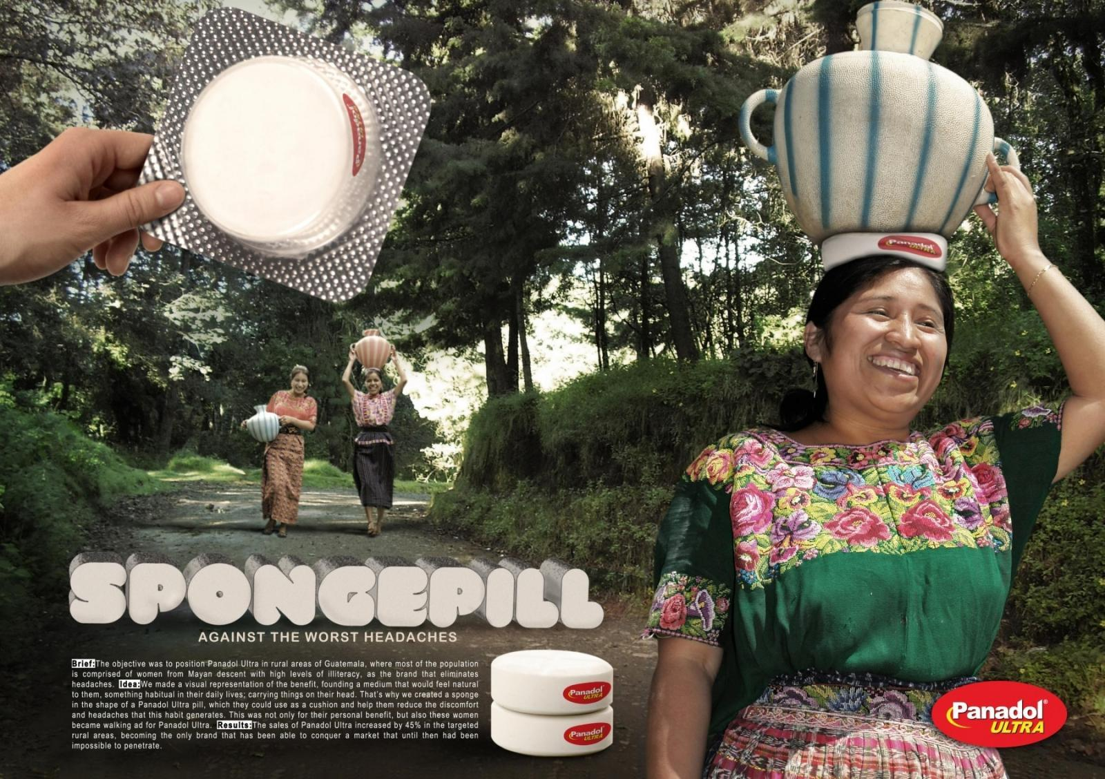 Panadol Direct Ad -  Spongepill