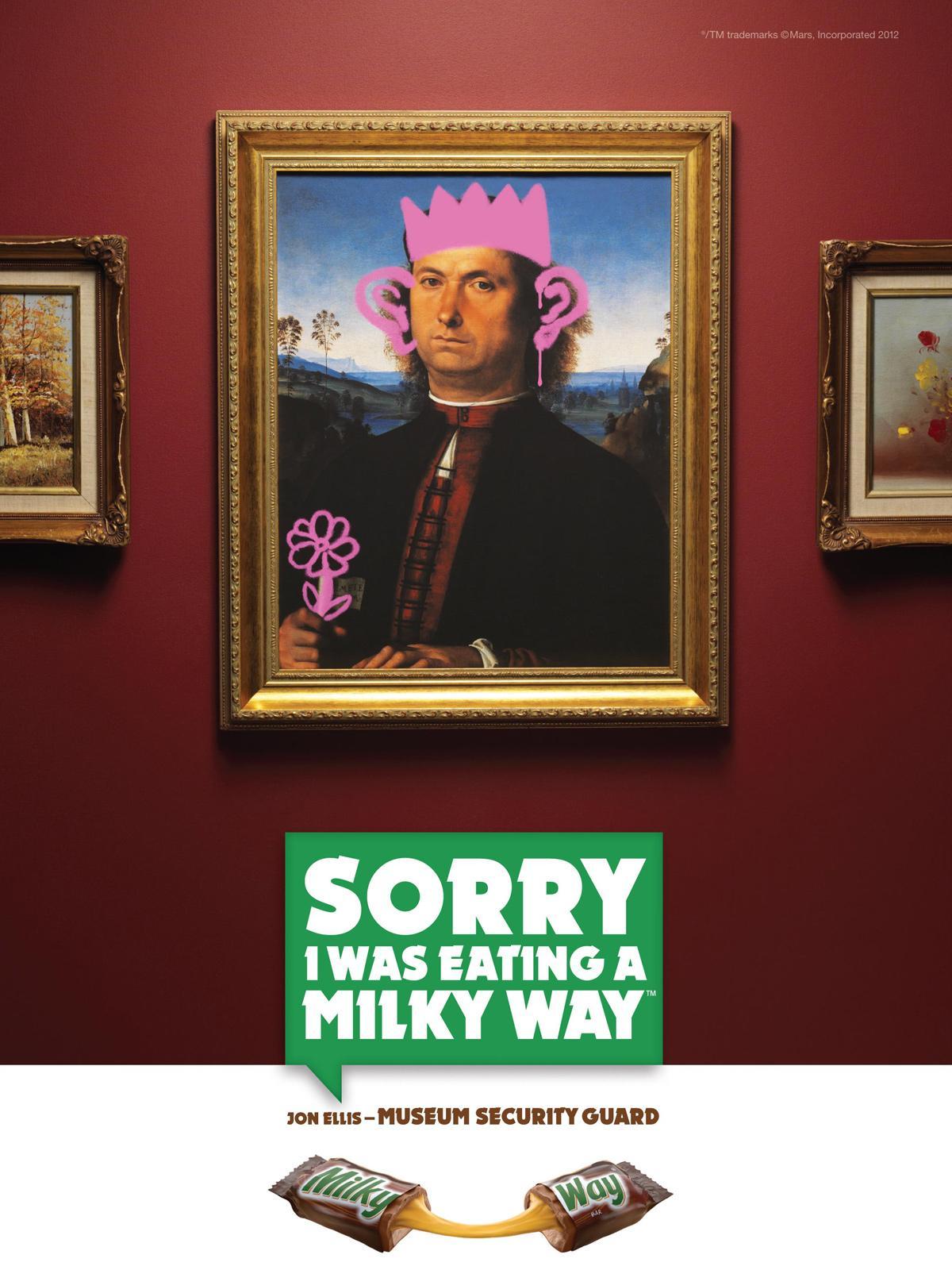 Milky Way Print Ad -  Painting