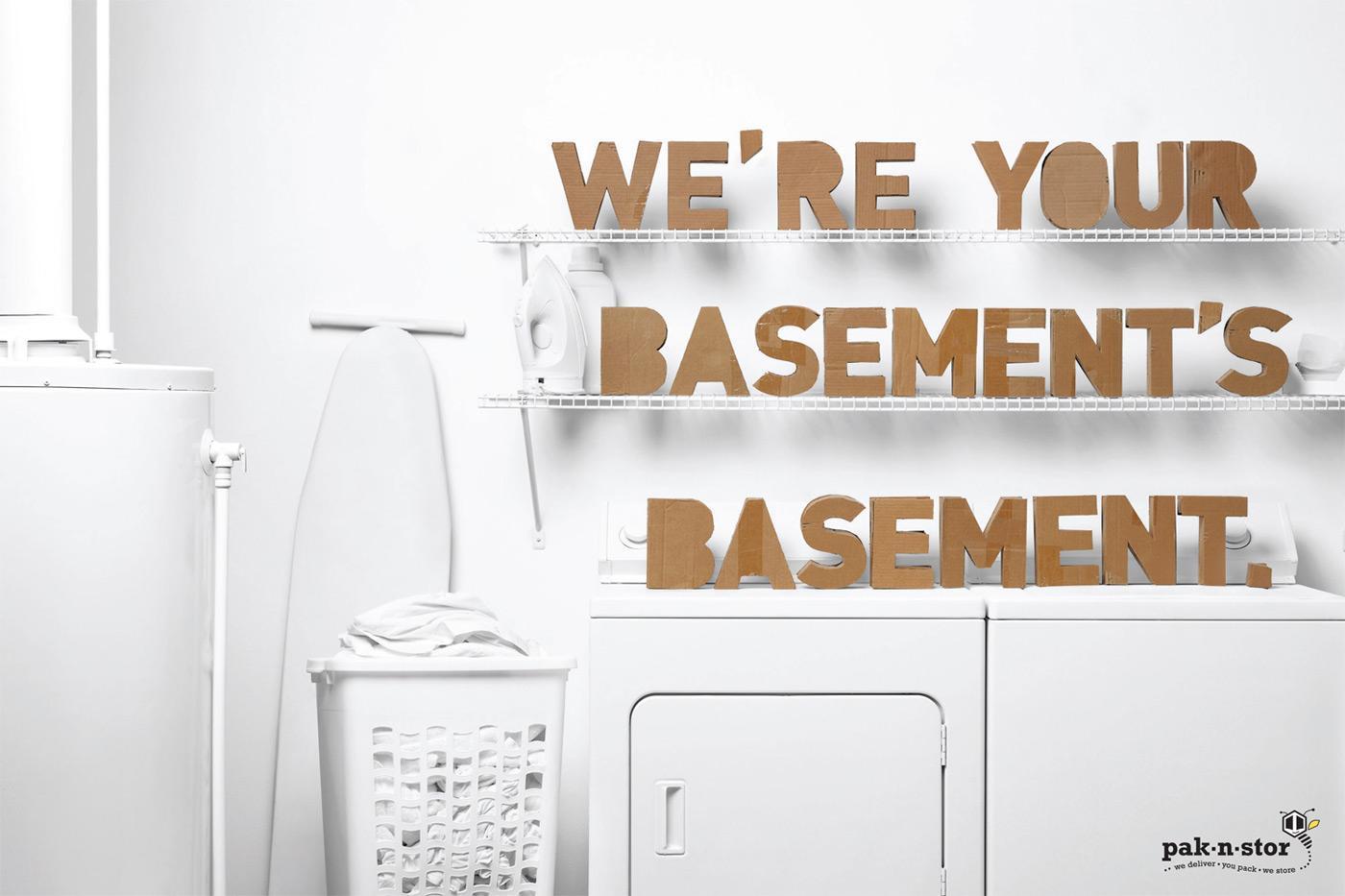 pak-n-stor Print Ad -  Basement