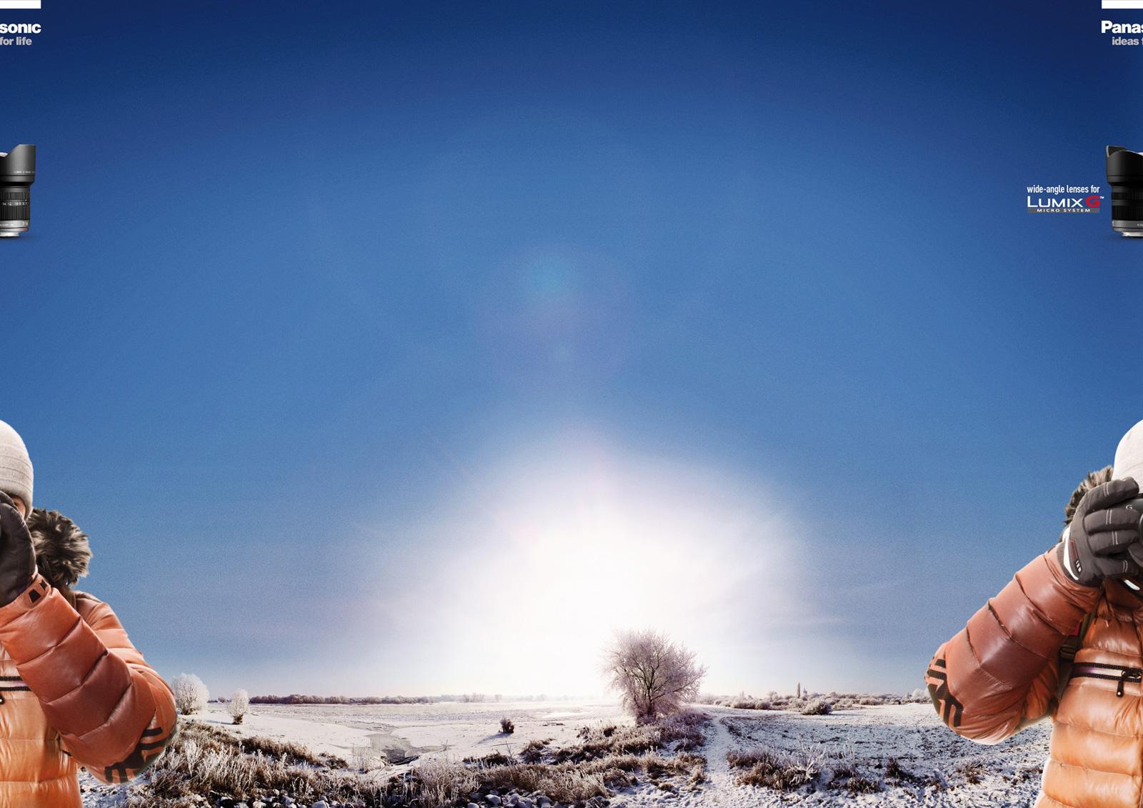 Panasonic Print Ad -  Snow