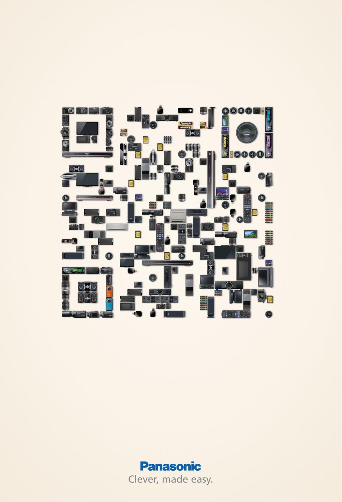 Panasonic Print Ad -  QR Code