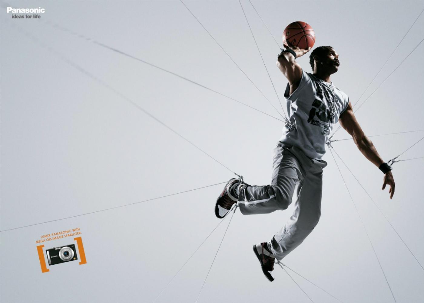 Panasonic Outdoor Ad -  Basketball