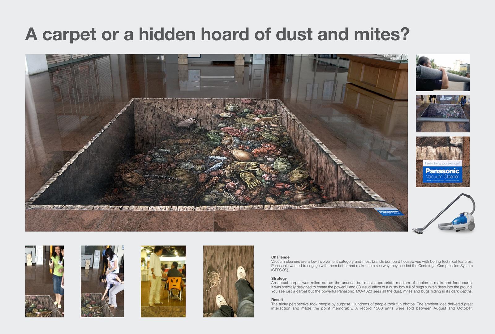 Panasonic Ambient Ad -  Dust