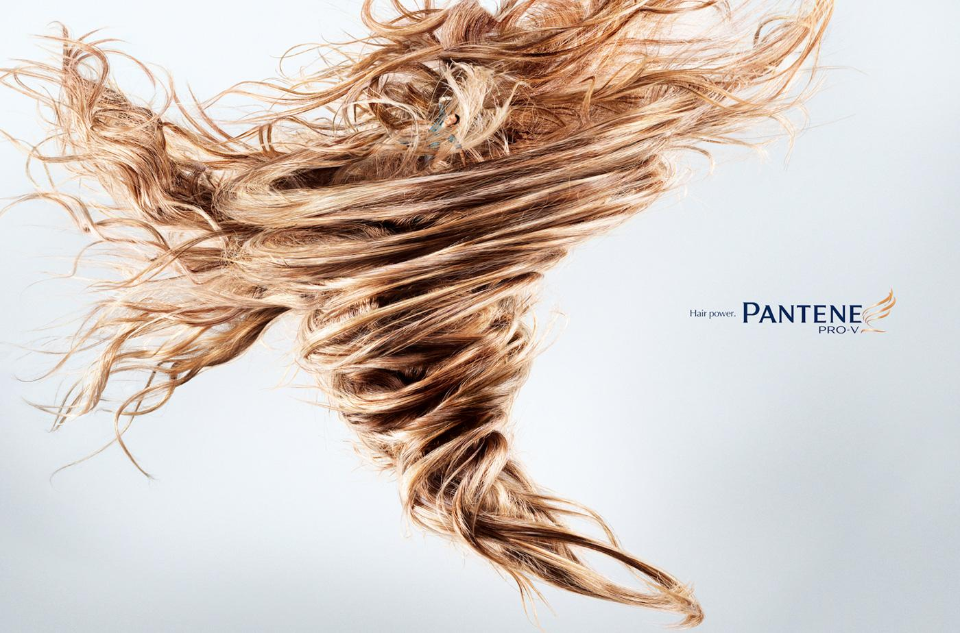 Pantene Print Ad -  Tornado