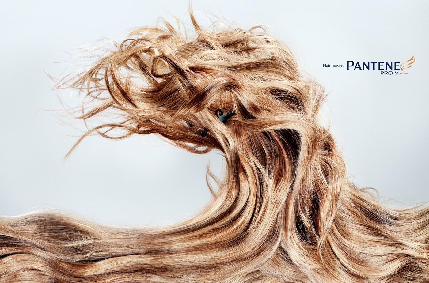 Pantene Print Ad -  Wave