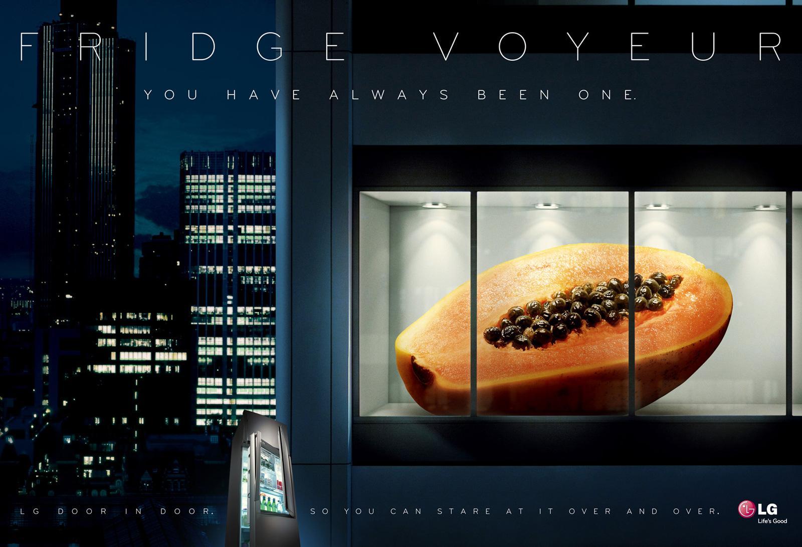 LG Print Ad -  Papaya