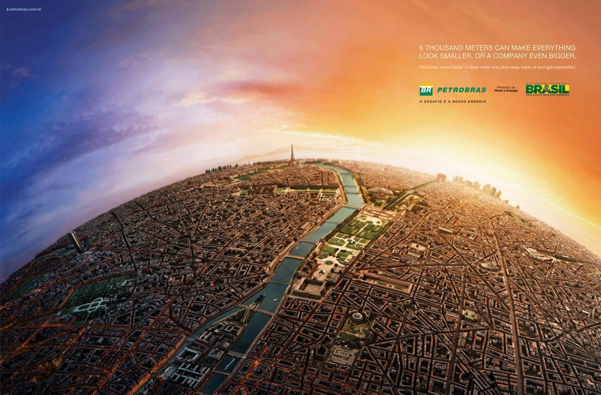 Petrobras Print Ad -  Paris