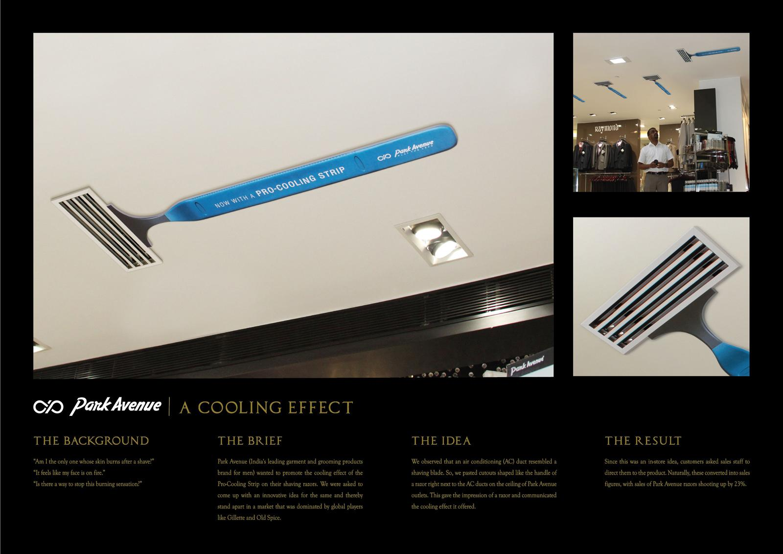 Park Avenue Outdoor Ad -  A cooling effect