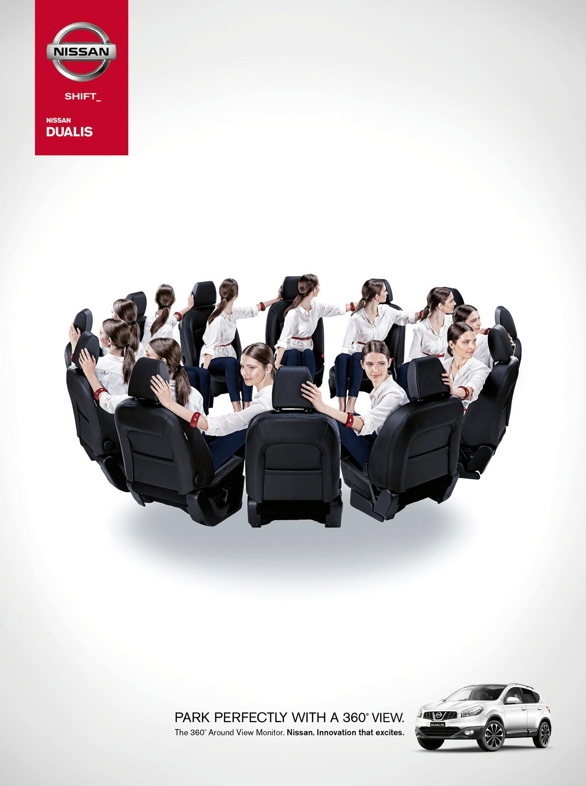 Nissan Print Ad -  Park Perfectly