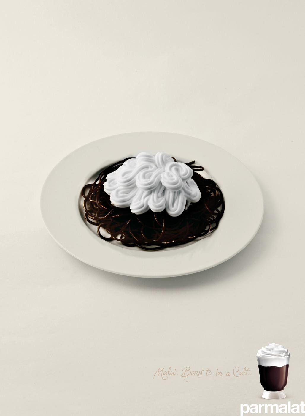 Parmalat Print Ad -  Spaghetti