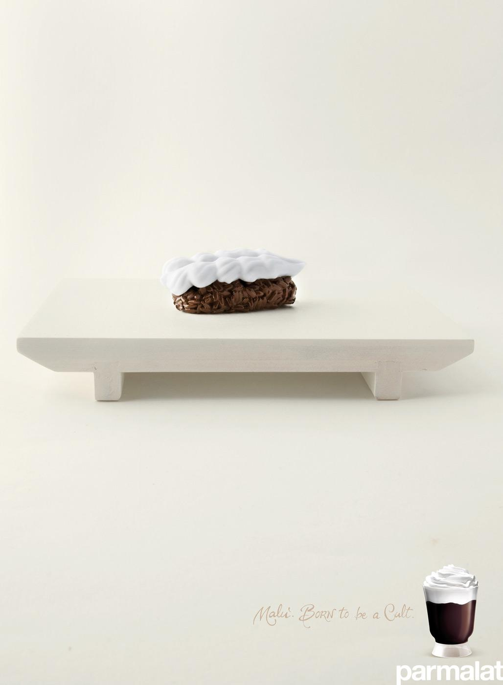 Parmalat Print Ad -  Sushi
