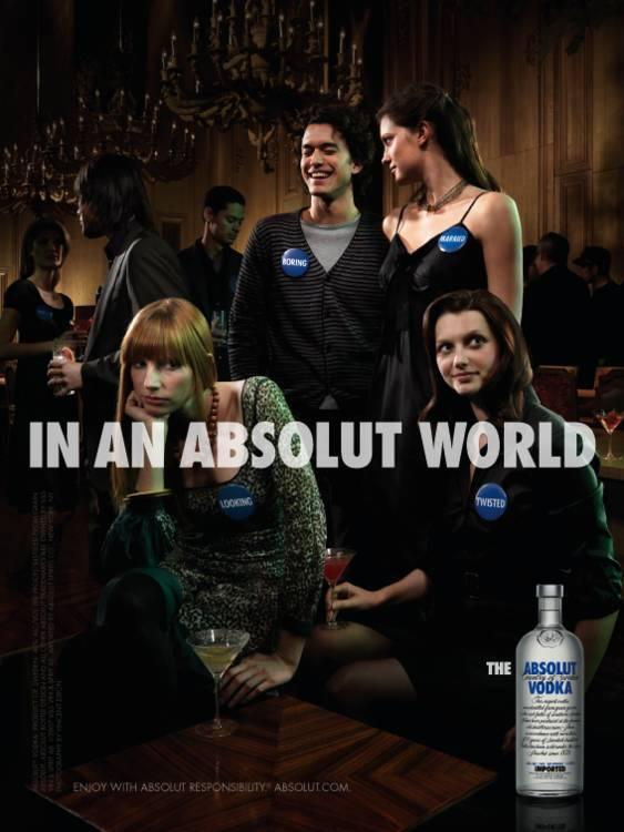 Absolut Print Ad -  Party