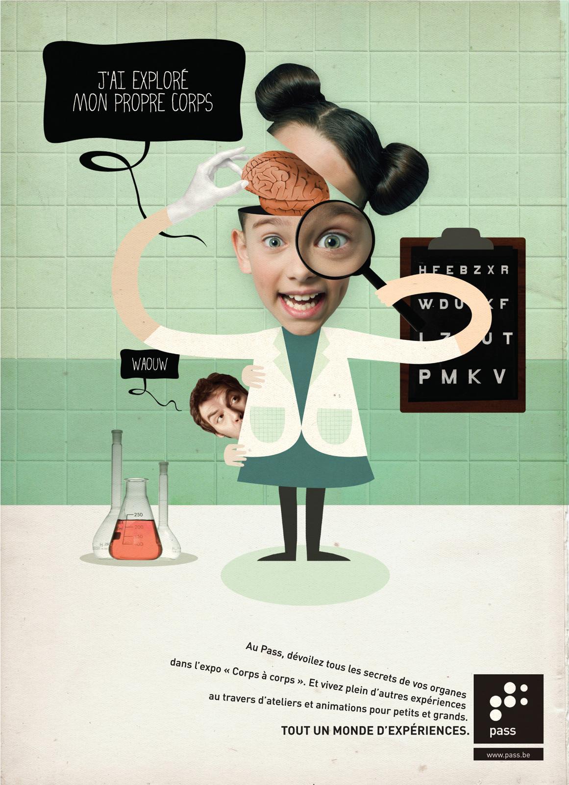 Le Pass Print Ad -  Body