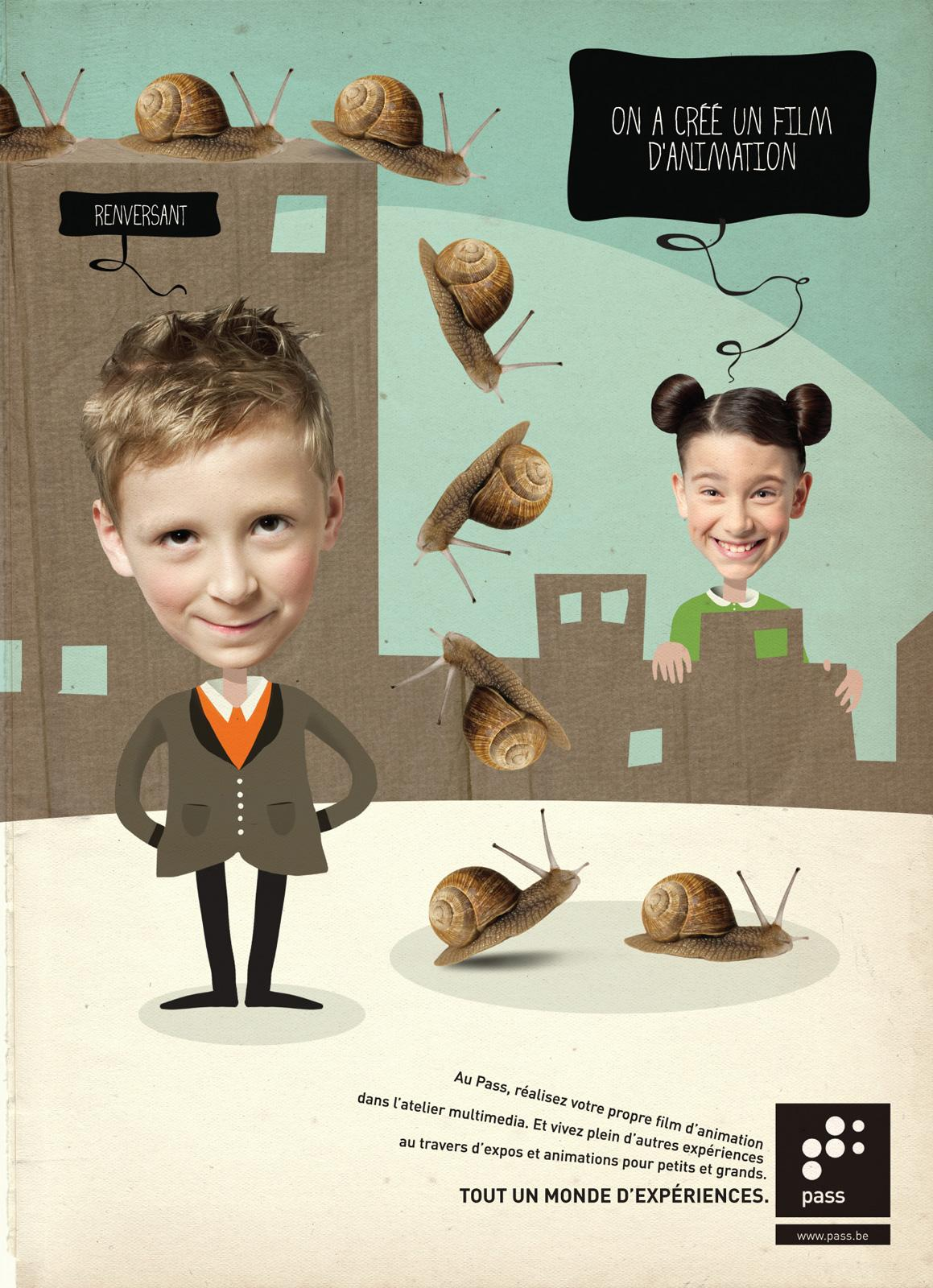 Le Pass Print Ad -  Animation