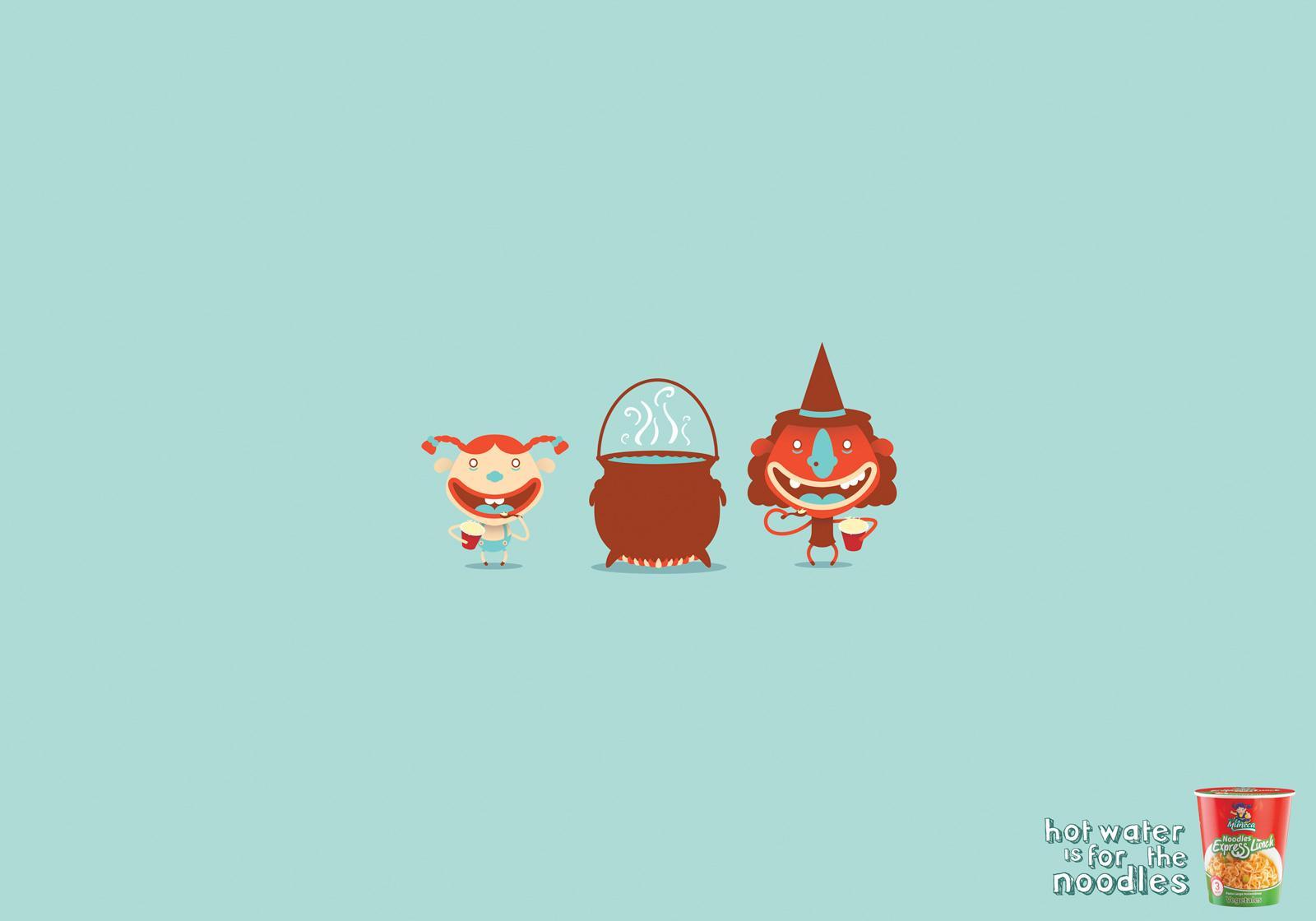 Pastas La Muñeca Print Ad -  Witch